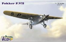 Valom 1/72 Model Kit 72037 Fokker F.VIIb/3m